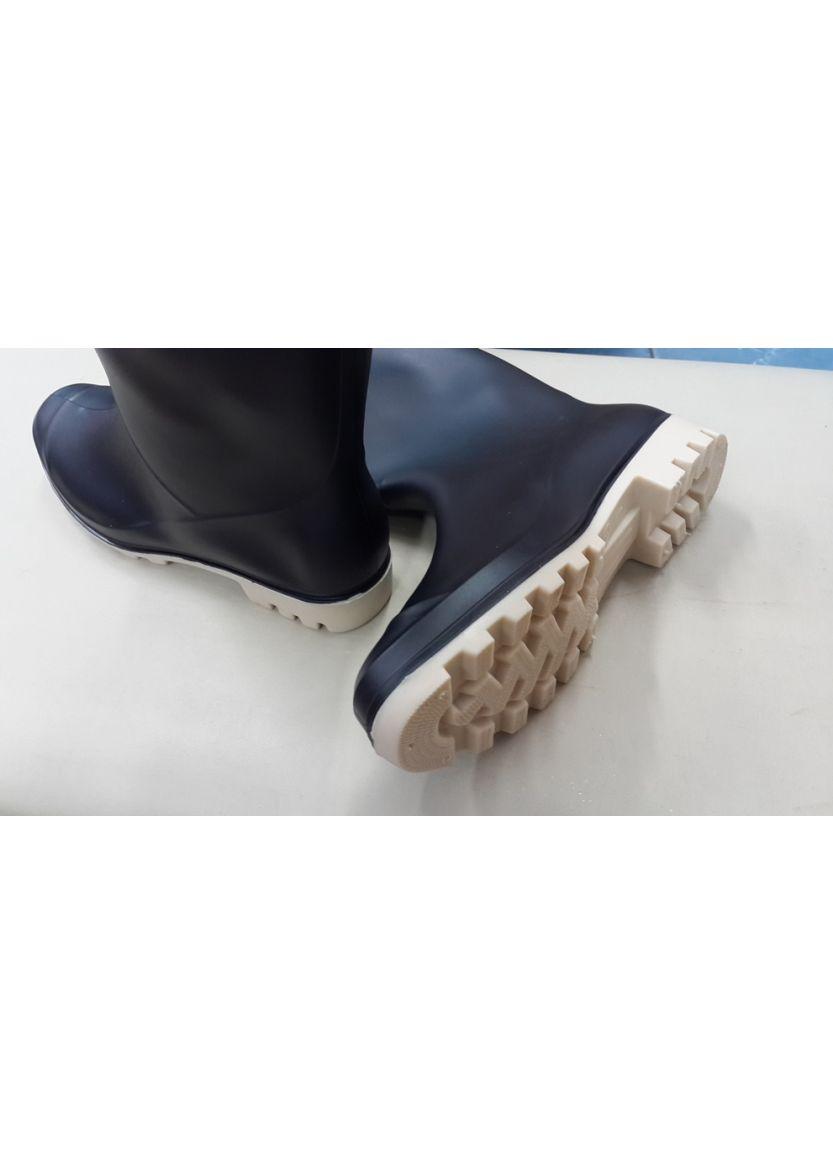 Купити онлайн Чорні жіночі гумові чоботи з бежевим бантом від Vices ... 08df3afc2fc21