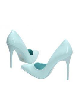 Светло-бирюзовые женские туфли на шпильке от Vices