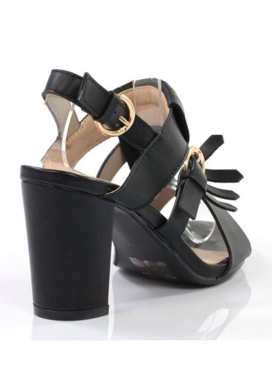 Sale: Черные женские босоножки в стиле бохо заказать online