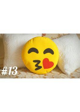 ПОДУШКА-СМАЙЛИК EMOJI #13 Поцелуйчик