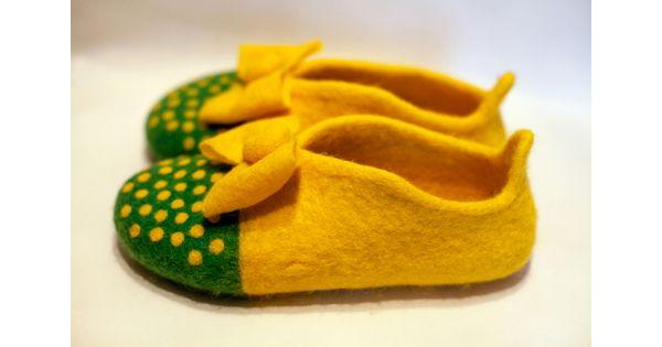 Купити онлайн Жовті жіноче взуття для дому недорого по ціні 733 грн. Модель  Karyn в інтернет-магазині Shoester a1d75e18c5e9c