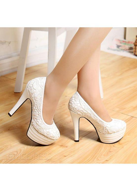 Купити онлайн Білі жіночі туфлі недорого по ціні 733 грн. Модель ... 006f4c5e6a6fa