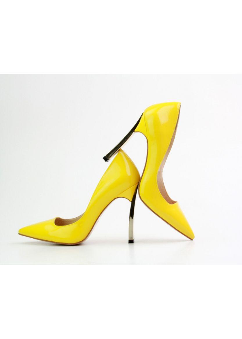 Купити онлайн Жовті жіночі туфлі недорого по ціні 733 грн. Модель ... 30ac2a71fc651